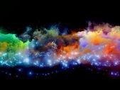 Nebel von fraktal-schaum — Stockfoto