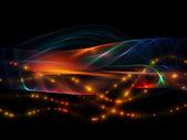 Virtual Fractal Waves — Stock Photo