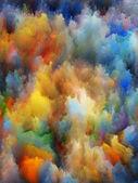 Dance of Fractal Turbulence — Stock Photo