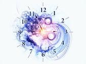 Czas tło — Zdjęcie stockowe