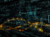 Visualization of Mathematics — Stock Photo