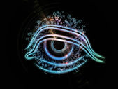 Eye of Technology — Stock Photo