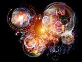 Música conceitual — Fotografia Stock