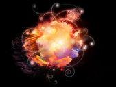 デザイン星雲の夢 — ストック写真