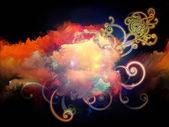 Cool Design Nebulae — Stock Photo