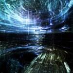 Lights of Fractal Metropolis — Stock Photo #26856671
