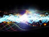 Depth of Dynamic Network — Stock Photo