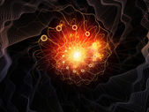 Spiral akışı — Stok fotoğraf