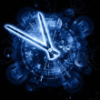 Stock Photo: Abstract clock forms