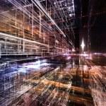 Lights of Fractal Metropolis — Stock Photo #27187315