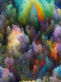Realms of Fractal Turbulence — Stock Photo