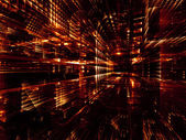 Fractal World Abstraction — Stock Photo