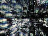 Utanför urban abstraktion — Stockfoto