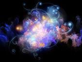 Cool Design Nebulae — Foto Stock