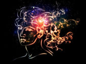 Lights of Inner Thoughts — Stock Photo