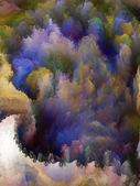 Way of Fractal Turbulence — Stock Photo