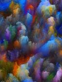 Inner Life of Fractal Turbulence — Stock Photo