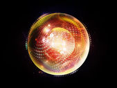 Elements of Fractal Sphere — Stock Photo