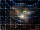 Red conceptual fractal — Foto de Stock