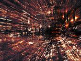 Yol in fractal dünya — Stok fotoğraf