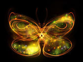 Butterfly Element — Stock Photo