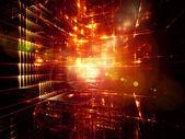 De levende wereld van fractal — Stockfoto