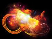 Diseño nebulosas arreglo — Foto de Stock
