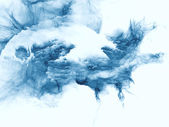 フラクタルのバーストを爆発 — ストック写真