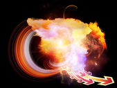 Design Nebulae Background — Stock Photo