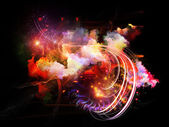 Dance of Design Nebulae — Stock Photo