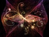 Florecer virtualsanal güzelleşmek — Stok fotoğraf
