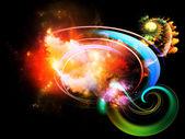 Design Nebulae Arrangement — Stok fotoğraf