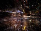 Luces de la tecnología — Foto de Stock