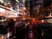 Elementos do mundo fractal — Fotografia Stock