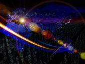 Propagazione del flusso di informazioni — Foto Stock