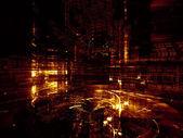 Shining Fractal Dimensions — Stock Photo