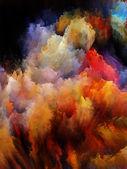 Unfolding of Fractal Turbulence — Stock Photo