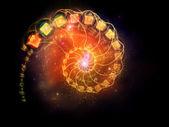 Complejo espiral — Foto de Stock