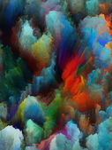 Depth of Fractal Turbulence — Stock Photo