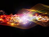 Emergence of Dynamic Network — Stock Photo