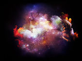 Advance of Design Nebulae — Stock Photo