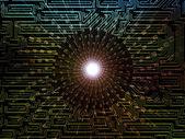 Numerische netzwerk — Stockfoto