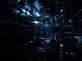 Virtualization of Fractal Dimensions — Stock Photo
