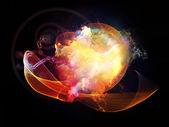 Cool Design Nebulae — Stock fotografie
