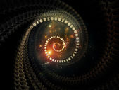 Coole spiral — Stockfoto