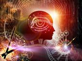 Sinergias da mente humana — Foto Stock