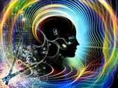 Tempos da mente humana — Foto Stock