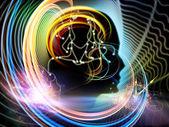 énergie de l'esprit humain — Photo