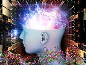 Luzes da mente — Foto Stock