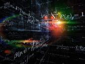 Visualization of Mathematics — Stock Photo